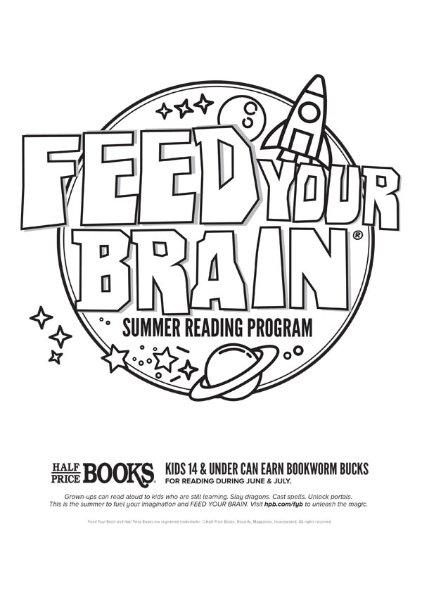 Half Price Books - Feed Your Brain Summer Reading Program