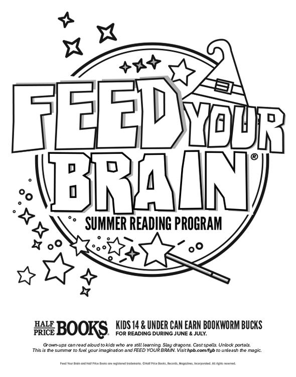 Half Price Books Feed Your Brain Summer Reading Program